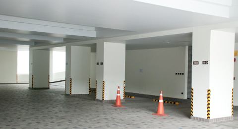 shanti sadan underground parking space